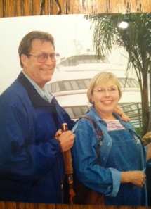 Robby and me on Catalina Island.